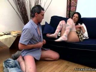 pierdolony, student, hardcore sex, seks oralny