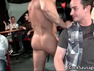 Hawt Jock Engulfing Party Sausgage Video