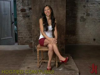 Sexy Asian Tied Up and Fucked