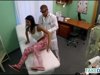 Teen gets pounded in fake hospital