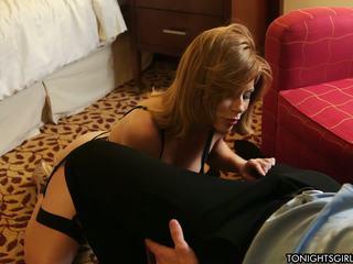blowjob, brunettes, lingerie