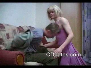 see suck action, crossdresser porno, blonde