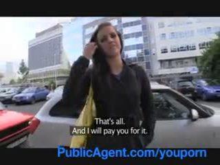 Publicagent morgan strips ära ja gets perses minu a fake mudel agent