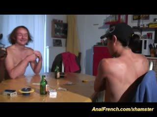 meest frans tube, echt trio scène, echt anaal