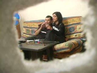 Amadora turca esposa com russa homem enquanto hubby was longe