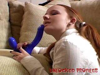 Redhead Halo Sucking