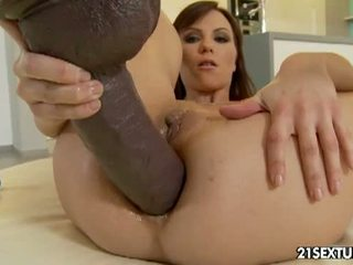 brunetka, big dick, assfucking