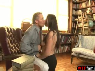 Horny And Beautiful Teen Chick Loves Fucking Her Stepdaddys Hard Cock