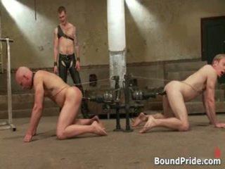 Ned و chad في جدا متطرف مثلي الجنس الاباحية عبودية 5 بواسطة boundpride