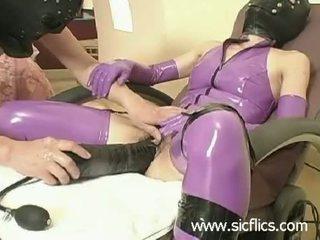 ideaal fetisch, heetste latex neuken, alle xxl dildo's neuken