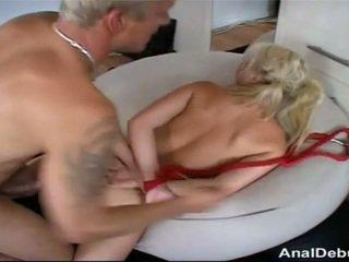 丹麥的 女孩 gets 肛門 lesson