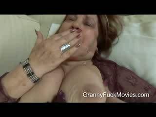Dies ist ein fett und rallig oma die wants einige aktion