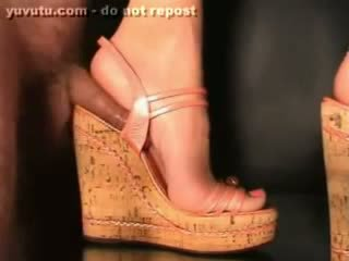 pik video-, schoenen porno, nominale voet video-