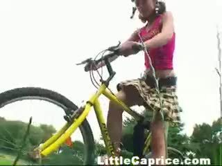 Dildo bike squirt