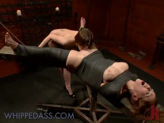 groot caning film, over de knie spanking film, vol spanking vid