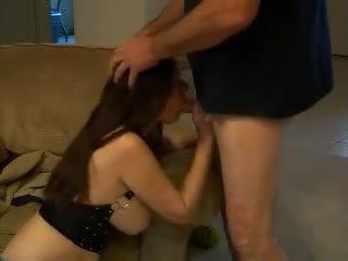 sucking, deepthroat, big boobs