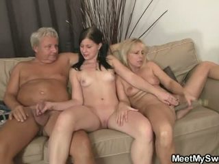 Meet My Sweet: Teen Chick Seduces er BF's Mom and Dad