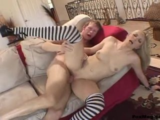 Ribald Bombshell KyLee Reese Receives Her Pussy Stabbed By A Monster Cock