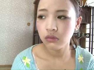 brunette, japanese, babe, panties