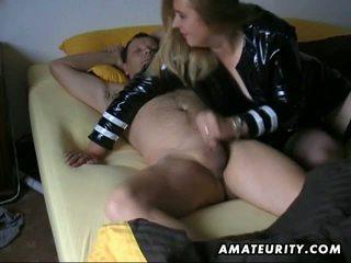 kwaliteit pijpen video-, huisvrouwen vid, heet amateur porno