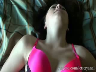 Amateur alisa ford primero tiempo anal tryout