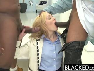 Blacked 2 mare negru dicks pentru bogat alb fata