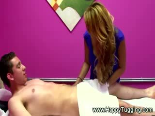 asian masseuse pleases her clients shaft