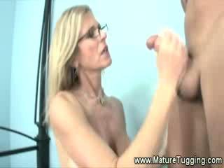 cougar, ideal jerking, fresh grandma tube
