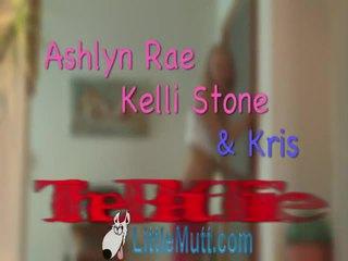 Ashlyn Rae And Kelli Stone Devour Poor Kris In Thowdys Sensuous Movie Added 02 18 2010