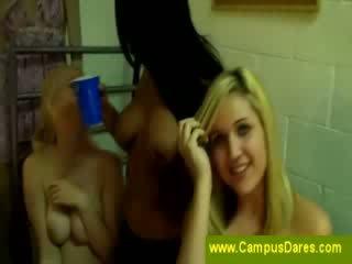 Tipsy chicks get Nude