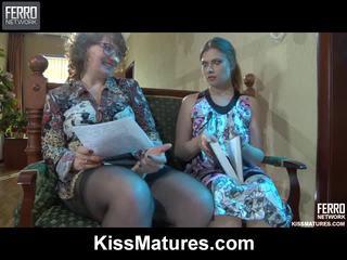 Flo&alana pussyloving eje onto video