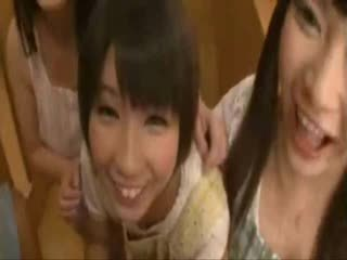 mooi japanse, vers groepsseks, aziatisch