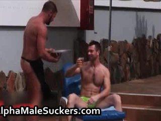 Geil homo men homosexual bips neuken en lul video-