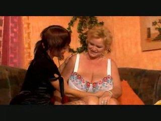 Big Breasted Lesbian Granny