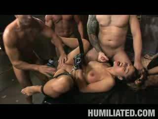 Cathy Drinks spunk In Wet Orgy!