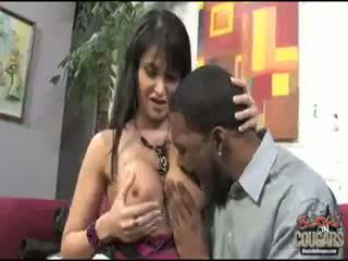 blowjob, baby, sehen interracial