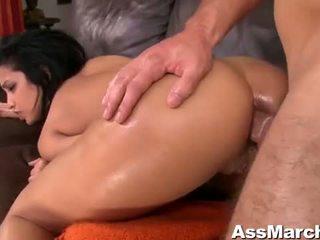 Sexy zadok latinskoamerické naivka abella anderson anál fucked video