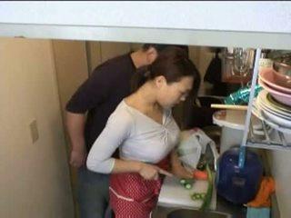 husmødre, kjøkken, xvideos