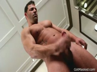 Rock Hard Muscled Chap Beating Off 4 By Gotmasked