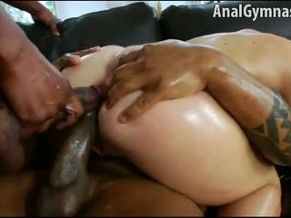 Isabella Clark Anal Double Penetration Interracial Action