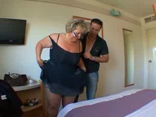 Carole 法國人 成熟 肛門 性交
