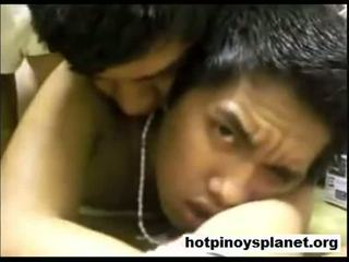 Two pinoy boys having a karstās jāšanās