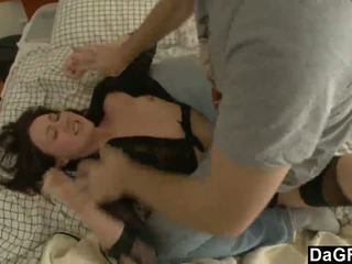Destroying dela cu depois ripping dela clothes