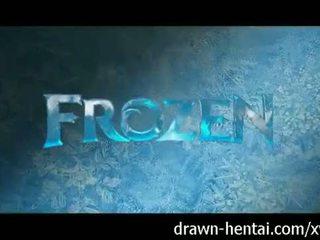 Frozen hentai - elsa's feucht traum