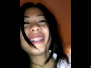 Pinay studente fucked pēc viņai schooling