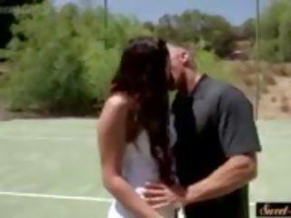 Pics gefickt Tennis Mädchen Mädchen Mit
