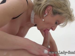 Lady Sonia Jerks off and Suck Twitter Follower: HD Porn c7