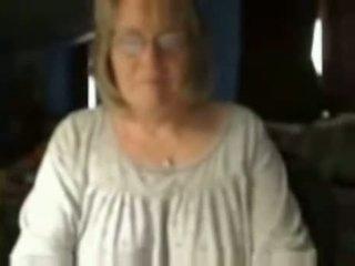 Vecmāmiņa par omegle - netīras kamera sluts