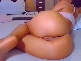 Hot Big Round Ass POV Doggy Tight Fat Cameltoe Pussy...