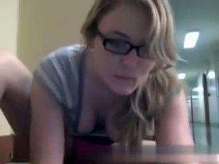 mooi webcams tube, nominale nerdy, library klem